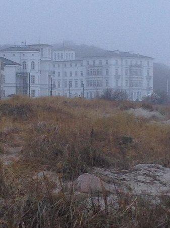 Grand Hotel Heiligendamm: Blick vom Strand