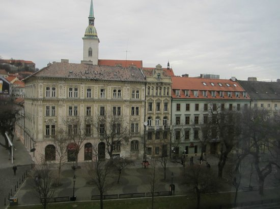 Park Inn Danube Bratislava: Vista desde la habitación
