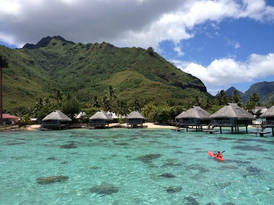 Hilton Moorea Lagoon Resort & Spa: View from the terasse