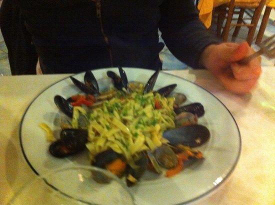 La Carcara: Seafood pastas