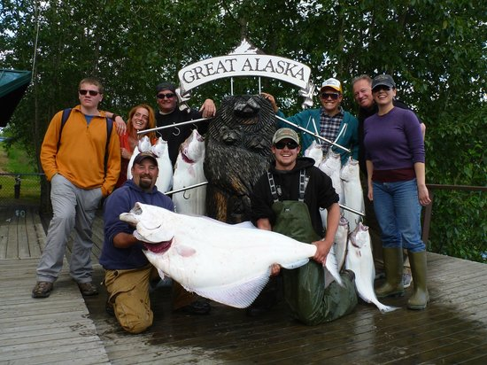 Great Alaska Adventure Lodge: A healthy load of offshore fish!