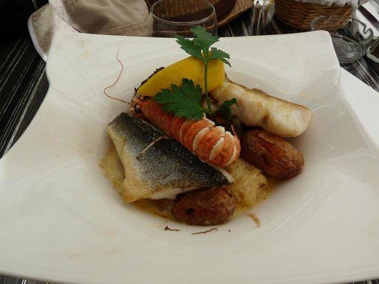 Restaurant Le Skipper : Choucroute de la mer
