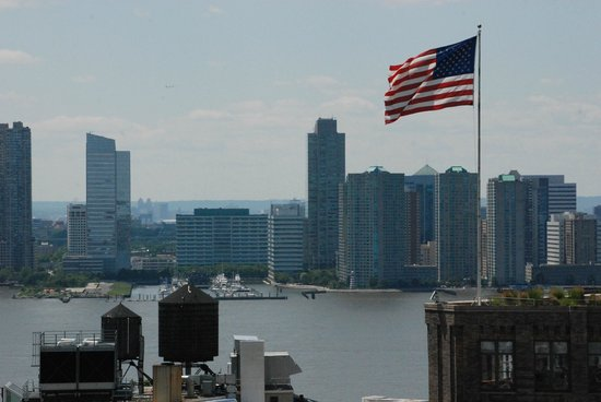 The James New York: View from rooftop pool