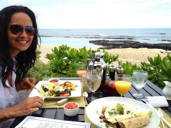 Four Seasons Resort Hualalai : breakfast at Hualalai