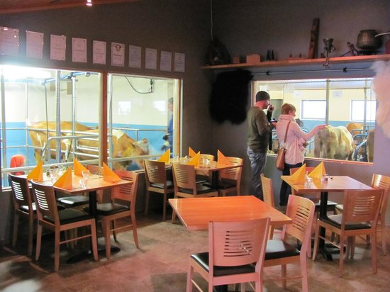 Vogafjos Cowshed-Cafe and Guesthouse : The cowshed