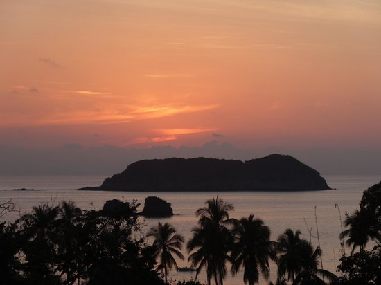 Hotel San Bada : Sunset from the sixth floor poo;