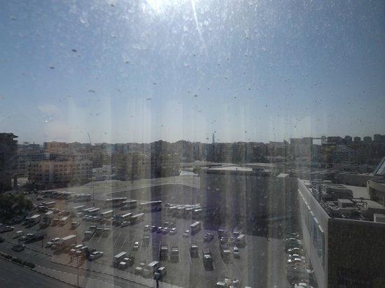 Star Metro Al Barsha : vista dalla camera