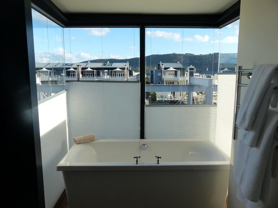 The Turbine Boutique Hotel and Spa: View from room 201