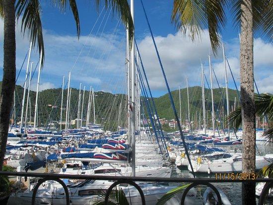 Moorings Mariner Inn Hotel: Boats