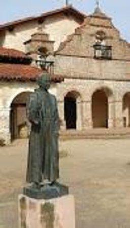 Father Serra Statue Picture Of Mission San Antonio De
