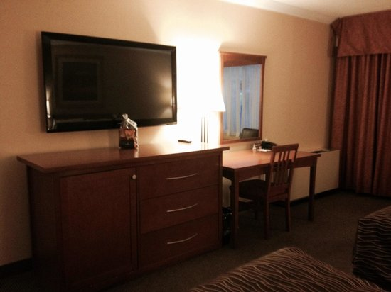 Travelodge Hotel and Conference Centre Regina: Large TV