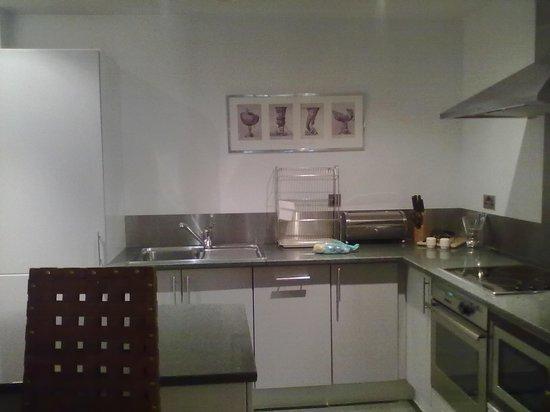 196 Bishopsgate : cucina