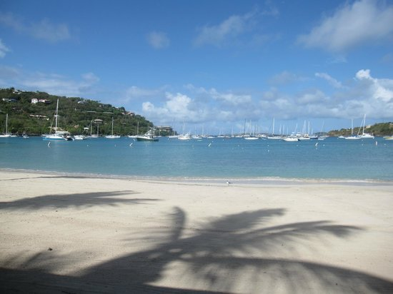 The Westin St. John Resort Villas: The beach at the hotel