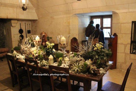 Château de Chenonceau : Cuisine décorée