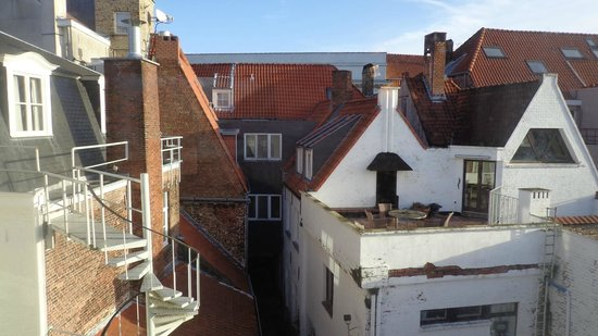 Hotel Navarra Brugge: View from our room