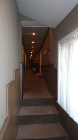 Hotel Navarra Brugge: Hallway