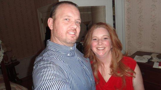 Mercersburg Inn: Eric & Tracy just before our renewal