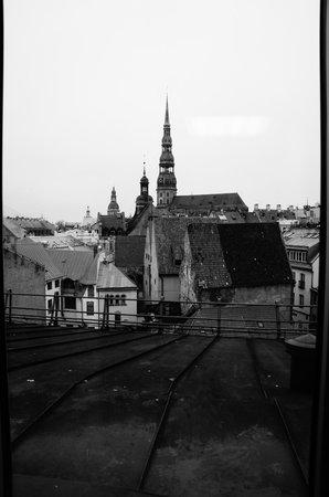 Hotel Avalon : вид из окна