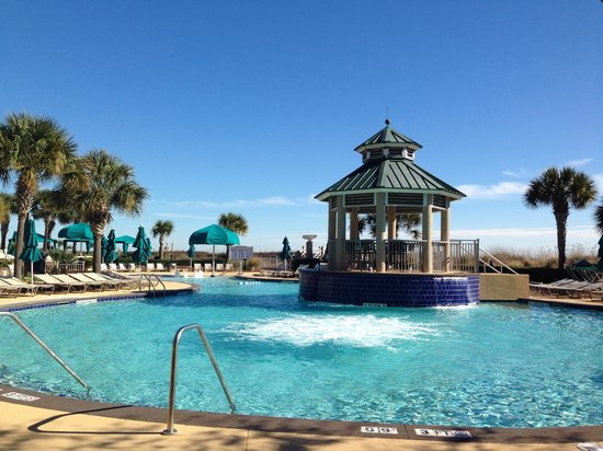 Marriott S Barony Beach Club Pool Near The
