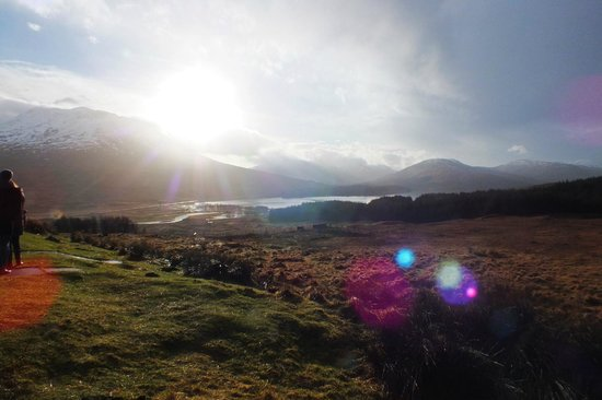The Hairy Coo - Free Scottish Highlands Tour : Beautiful Highland Scenery