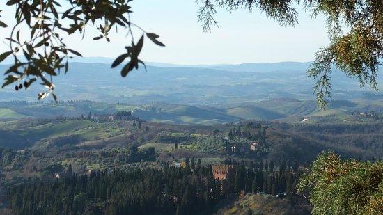 Osteria il Pozzo di Chiusure : Vista panoramica