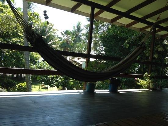 Pargo Feliz Hotel: Le hamac