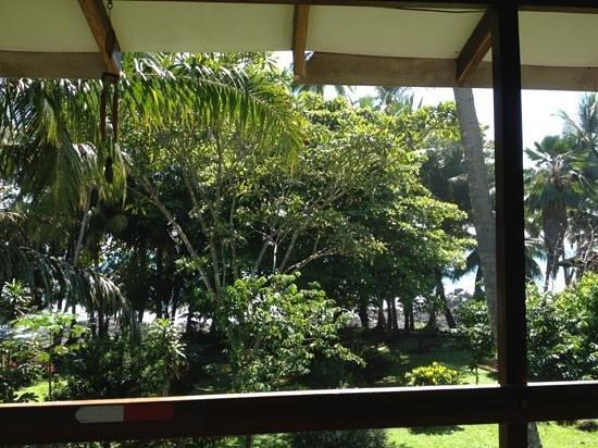 Pargo Feliz Hotel: L'ocean pacifique vu du balcon de notre chambre