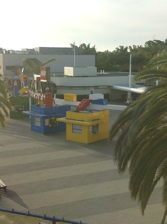 LEGOLAND California Hotel: view from room 3089