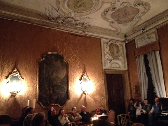 A splendid salon at Musica a Palazzo