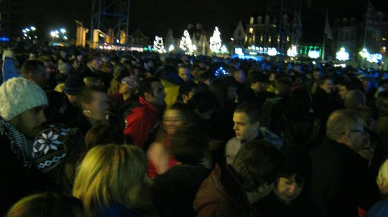 'T Zand: Thousands of New Year revellers