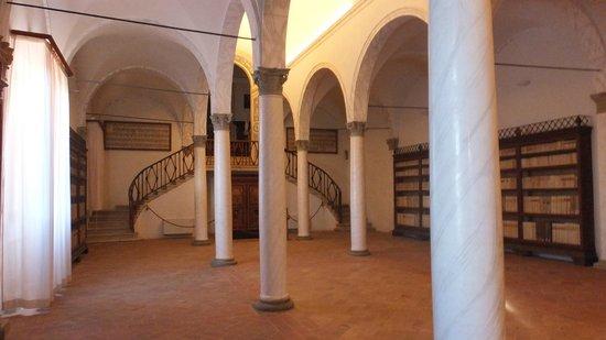Abbazia di Monte Oliveto Maggiore: Biblioteca