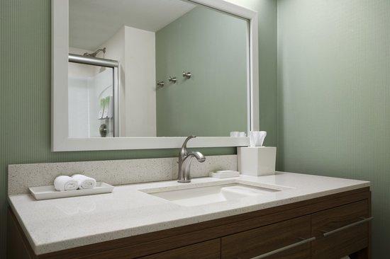 Home2 Suites by Hilton Philadelphia - Convention Center, PA : Guest Bathroom