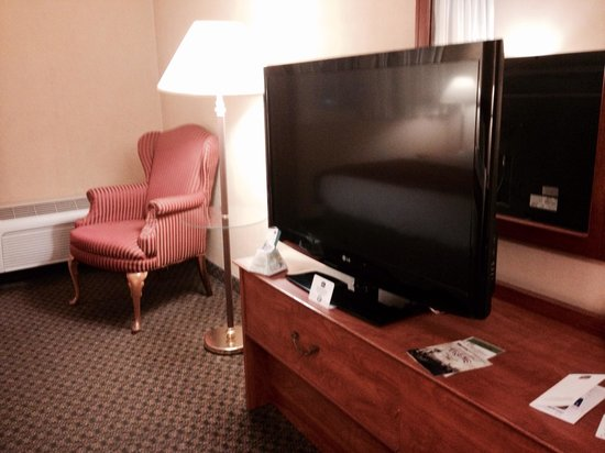 Country Inn & Suites By Carlson Fergus Falls : Flat panel tv