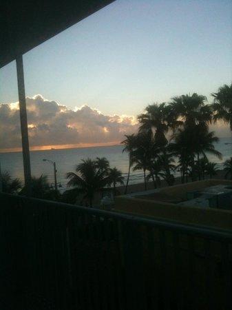 snooze: Blick vom Bett am Morgen!