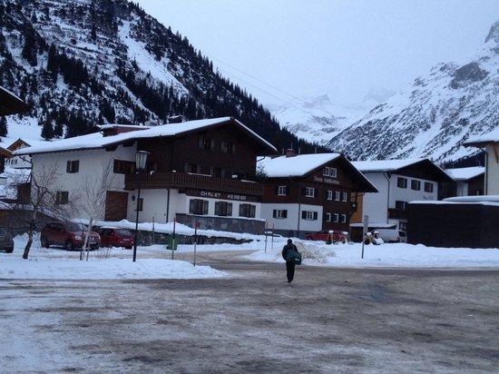 Chalet Kerber: Distance to skilift