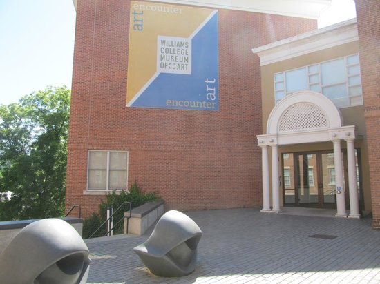 Williams College Museum of Art: The main entrance
