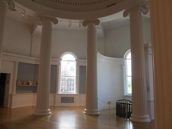Williams College Museum of Art: The rotunda