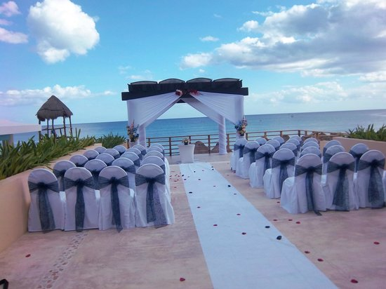 Now Jade Riviera Cancun Wedding Area