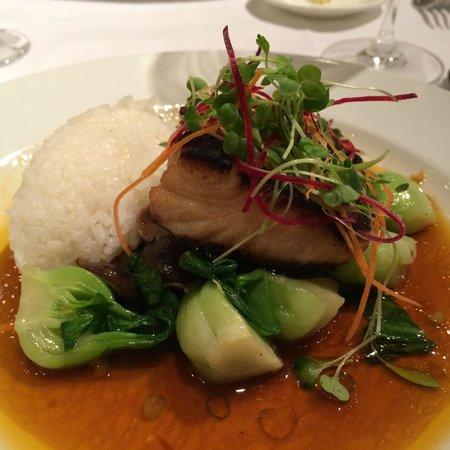 Gotham Bar & Grill: miso marinated black cod