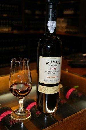 Blandy's Wine Lodge: Weinverkostung