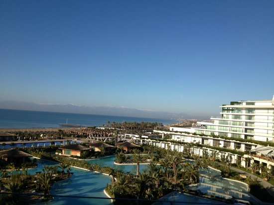 Maxx Royal Belek Golf Resort: View from Sea View Suite