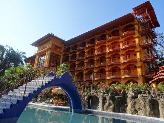Hotel San Bada: Hotel/Pool view first floor