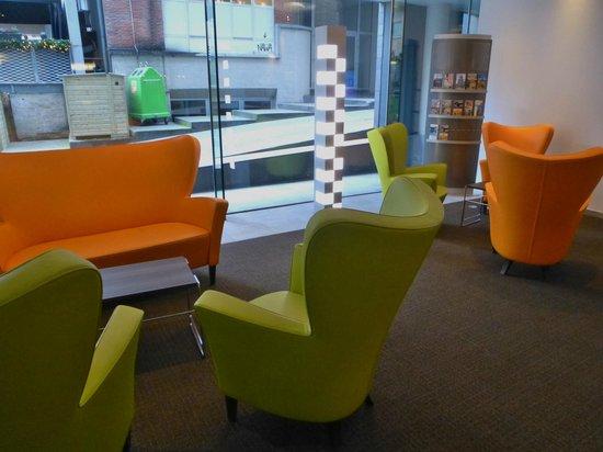 Novotel Mechelen Centrum: onthaal