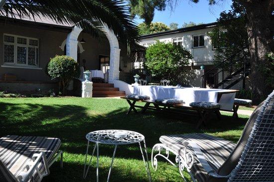 Le jardin de Ginnegaap Guesthouse