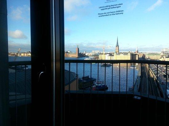 Hilton Stockholm Slussen: view from room