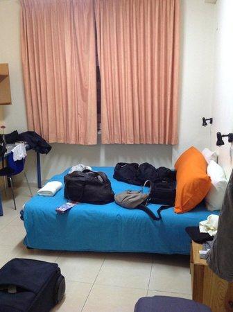 Abraham Hostel Jerusalem: double room