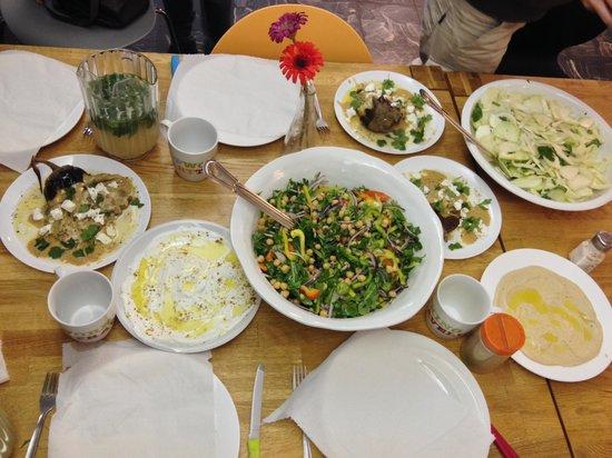 Abraham Hostel Jerusalem: cooking classes