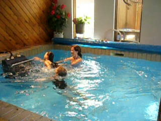 Indoor Endless Pool, just like swimming in a river, loads of fun ...