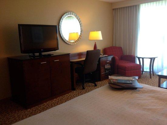 Ottawa Marriott Hotel: Bed was okay