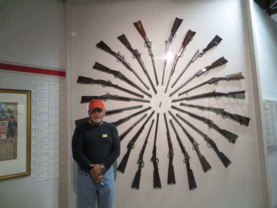 Buffalo Bill Historical Center : Henry at his favorite museum.